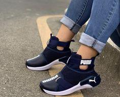 Puma High top's for Sale in Dallas, TX - OfferUp Puma Shoes Women, Puma Tennis Shoes, Nike Air Shoes, Cute Sneakers, Cute Shoes, High Top Sneakers, Shoes Sneakers, High Shoes, Puma High Tops