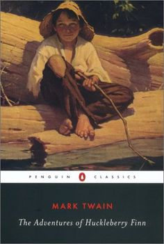 The Adventures of Huckleberry Finn by Mark Twain - was the No. 14 most banned and challenged title 2000-2009