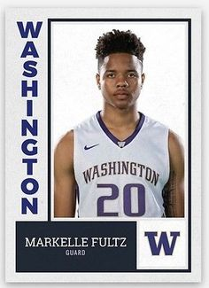 2016 MARKELLE FULTZ ROOKIE CARD WASHINGTON HUSKIES HOT 2017 NBA #1 Draft Rc