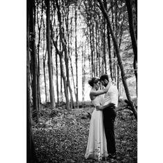 Brautpaar im Wald