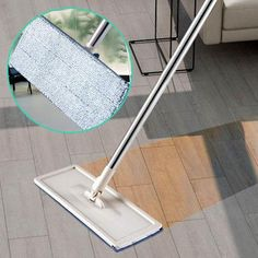 Flat Squeeze Automatic Avoid Hand Washing Mop – Pretty Little Deal Store Cleaning Mops, House Cleaning Tips, Cleaning Hacks, Cleaning Supplies, Kitchen Cleaning, Cleaning Products, Microfiber Mop Heads, Clean Microfiber, Spin Mop