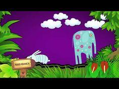 cuentos infantiles un elefante desobediente CreeSiendo - YouTube