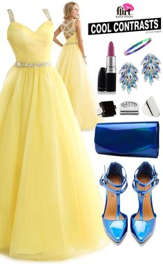 Pastel prom dress P4832: High Contrast Style