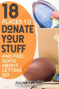When it's time to declutter and organize your house, you'll need this list of places to donate as you're decluttering. You may even love donating so much that you could decide to become a minimalist! Click through to read the post for ideas… Declutter Your Life, Clutter Free Home, Organizing Your Home, Organizing Tips, Spring Cleaning, Organization Hacks, Decorating Tips, Cleaning Hacks, Make It Simple