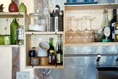 Wine Box shelving