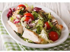 Eat This Much automatically creates custom meal plans for your diet goals. Perfect for weight loss, bodybuilding, Vegan, Paleo, Atkins and more! Balsamic Chicken, Cheese Salad, Picky Eaters, Atkins, Chicken Salad, Paleo Diet, Cobb Salad, Meal Planning, Bodybuilding