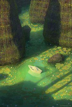 Imaginative Dreamlike Worlds by Digital Artist Gediminas Pranckevicius - My Modern Met