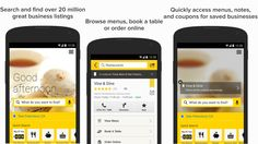 Find restaurants, cheap gas, make reservations, order movie tickets and more from one great app....