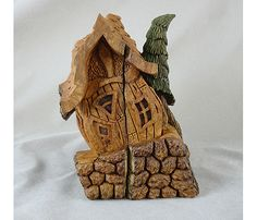 Dillman's Creative Art Workshops - 2015 - Tom Gow - Whimsical Cottage in Cottonwood Bark - Sept 6-11, 2015