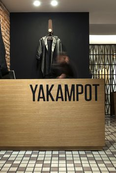 Yakampot main wall by Tuux