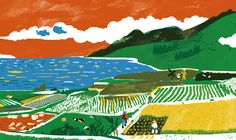 Chia-Chi Yu Four seanons of farmers in Hsin-She on Behance