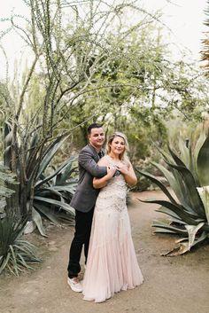 Bohemian Cactus Farm Wedding in Palm Springs