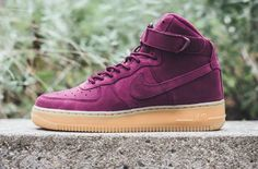 official photos 5cfe8 9a536 DO YOU LIKE THE NIKE AIR FORCE 1 HIGH BORDEAUX