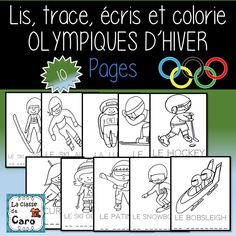 Bobsleigh, Kids Olympics, Teacher Helper, French Resources, French Teacher, French Immersion, French Words, Learn French, Playground