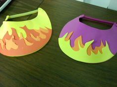 "Did these for the story of shadrach meshach and abednego:) underneath write ""God is with me"" The kids loved it!:)"