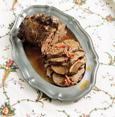 Famous South African Venison (Pot Roast Leg or Shoulder of Lamb) Venison, Beef, South African Recipes, Pot Roast, Lamb, Rolls, Traditional, Shoulder, Food