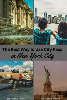 An itinerary for using City Pass for a 3 Day Visit to New York City whether you are travelling with kids or not.