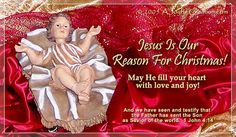 Jesus is Our Reason eCard - Free A Joyful Creation Greeting Cards Online