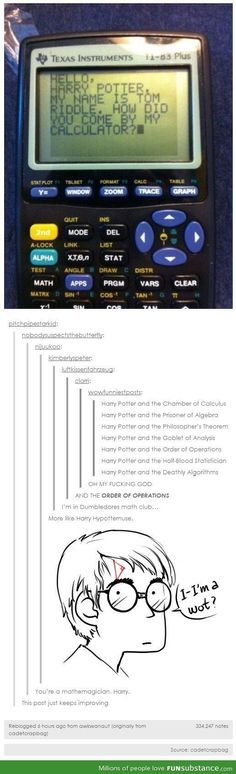 Harry Potter and the Order of Operations