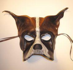 Dog Leather Mask by Teonova by teonova, via Flickr