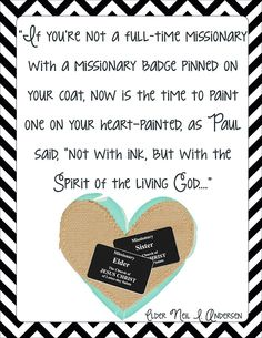 Everyone can be a missionary