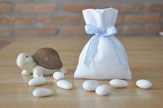 sacchettini bomboniere bianchi per di manufattofattoamano su Etsy, €3.50