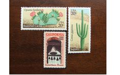 great stamps for a mexican vintage invite!