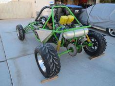 2003 Yamaha FZR 1000 Sand Rail , Green for sale in North Las Vegas, NV
