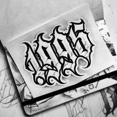 Chicano Tattoos Lettering, Tattoo Lettering Alphabet, Tattoo Lettering Design, Tattoo Fonts Cursive, Graffiti Lettering Fonts, Graffiti Tattoo, Writing Tattoos, Tattoo Script, Tattoo Design Drawings
