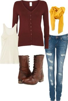 Another great fall outfit for the #Redskins and football season.