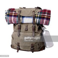 Stock Photo : Backpack