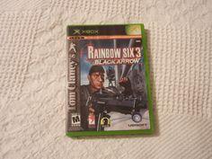 Tom Clancy's Rainbow Six 3 (Xbox, 2003) Video Game