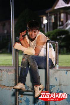 Seo In Guk as Lee Min Suk in King of High School Savvy