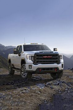 Photos, specs, and new features of the 2020 GMC Sierra HD Denali and truck designed for off road use. Gmc Suv, Gmc Pickup Trucks, Diesel Trucks, Ford Trucks, Chevrolet Trucks, Chevrolet Impala, Lifted Trucks, Pick Up, Sierra Truck