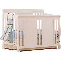 Storkcraft - Verona Fixed Side 4-in-1  Convertible Crib, White