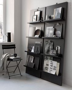 DIY: A beautiful display for books, magazines and other keepsakes.