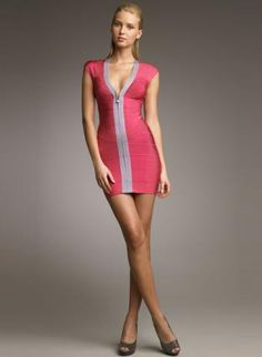 LOve it    Bqueen Reversible Bandage Dress Pink H044F,  Dress, Bqueen Reversible Bandage Dress Pink