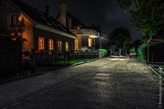 Nachts in der Vorstadt