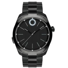 Engineered by HP, the Movado BOLD Motion is a modern smartwatch with Bluetooth® connectivity tracks your steps and uses lights and vibrations to alert you to upcoming. Audemars Piguet, Stainless Steel Watch, Stainless Steel Bracelet, Smartwatch, Cartier, Bluetooth, Black Quartz, Vintage Watches For Men, Watch Model