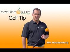 Golf Life gets a golf tip from Jim Hackenberg, CEO of the Orange Whip Trainer. He shows us how an Orange Whip can help improve our golf swing. Golf Tools, Golf Trainers, Sandestin Golf And Beach Resort, Golf Training Aids, Golf Club Grips, Golf Quotes, Golf Accessories, Play Golf
