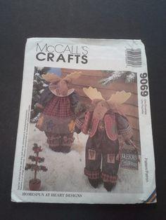 McCall's Crafts 9069 diy Reindeer dolls by BloomingRoseCrochet