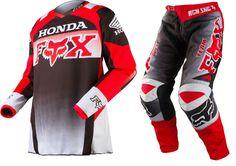 2015 FOX ADULT 180 HONDA MOTOCROSS KIT MX GEAR RACEWEAR COMBO CR CRF 125 250 450 in Vehicle Parts & Accessories | eBay