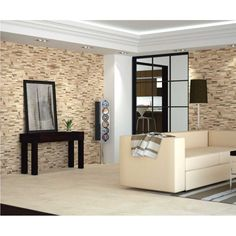 Materiales para fachadas de casas buscar con google - Ceramica imitacion piedra ...