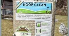 I am delighted to introduce you to my new sponsor, Lucerne Farms and their fresh, innovative bedding product, Koop Clean ®! Founded in 1...