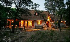 Cob house in Texas