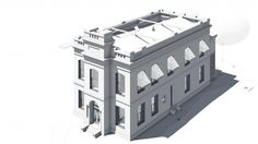 Bury Associates - Scanning & Modelling an Earthquake hit Historic Building in California