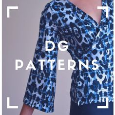 Modern and unique printable PDF sewing patterns by DGPATTERNS