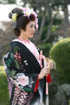 "Kimono | Wedding dress rental ""March March - Iwaki stores and Sukagawa store"" just pretty to look at"