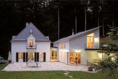 k2 geb udemanagement anbau einfamilienhaus kamin schiebet r carport au enanlagen anbau. Black Bedroom Furniture Sets. Home Design Ideas