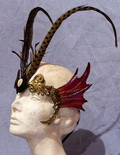 Finned Fairy Mask. $145.00, via Etsy.